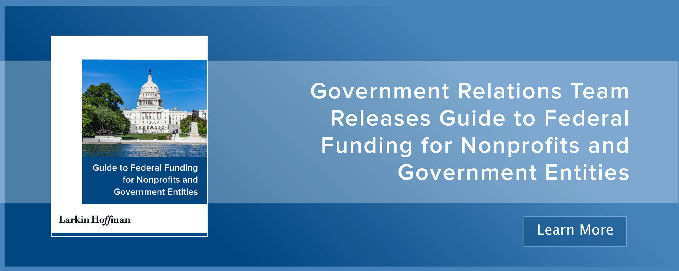 Banner for Government Funding Guide