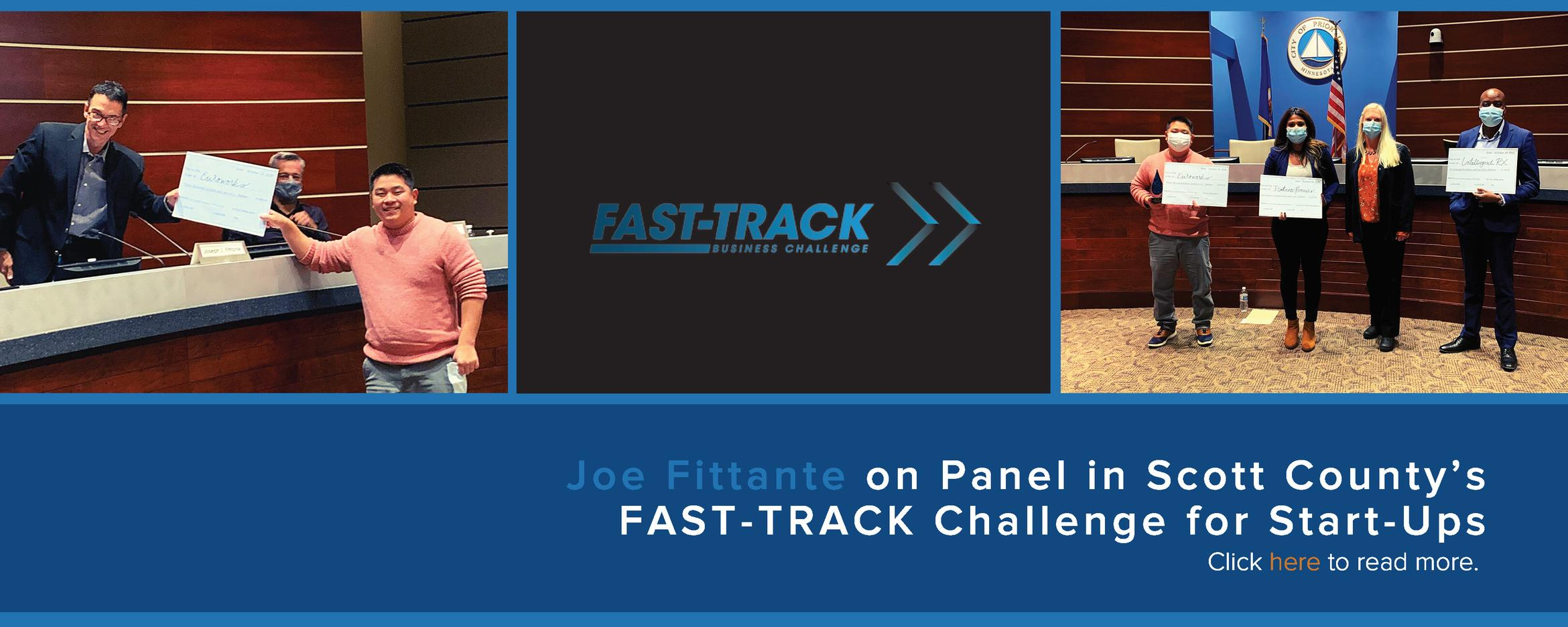 Image of Joe Fittante at Fast Track Challenge