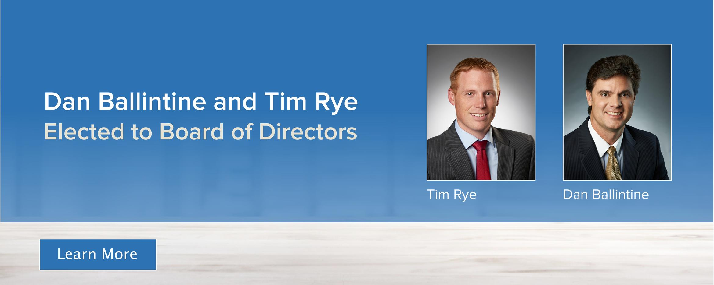 New Board of directors story link