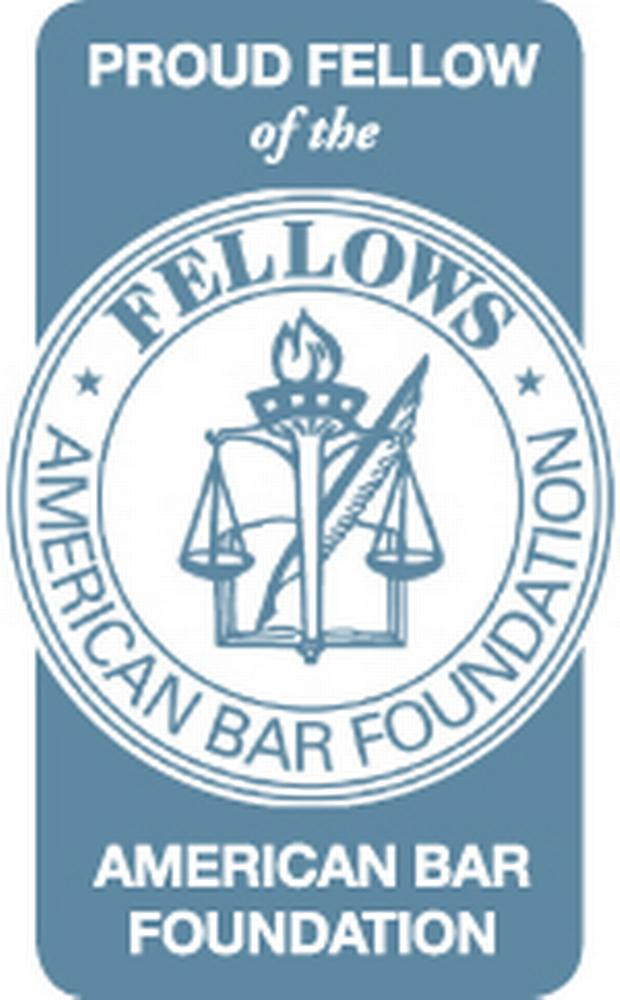 Image of the logo for the American Bar Association Fellows